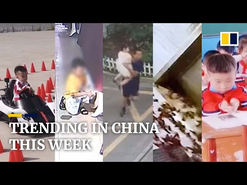 Trending in China: student tries to 'absorb' knowledge, and more