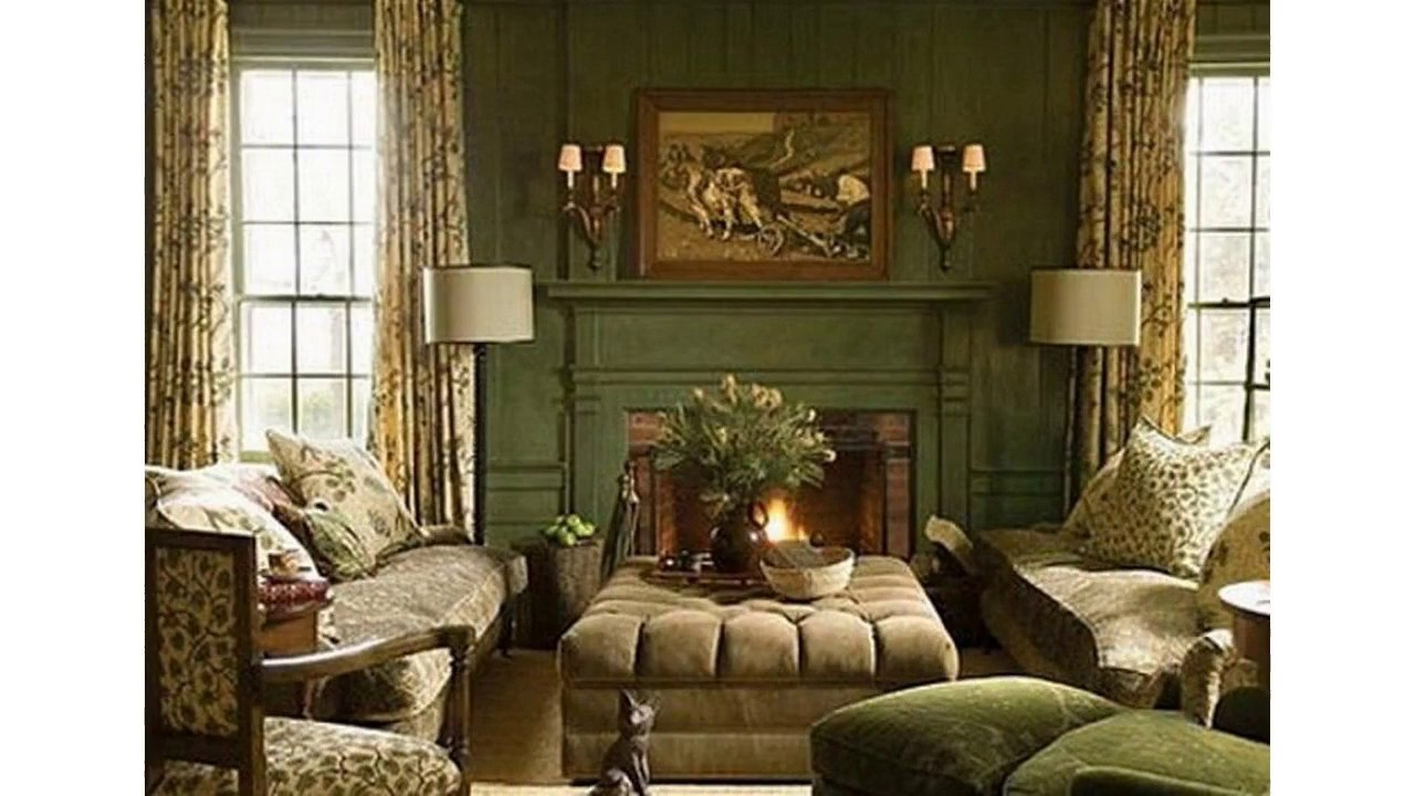 Grüne Schlafzimmer Dekoration Ideen