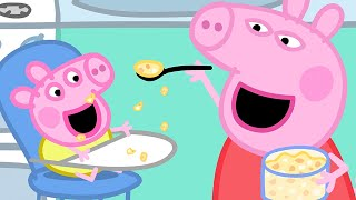 Download Peppa Pig Official Channel | Baby Alexander's Lunch Time with Peppa Pig Mp3 and Videos