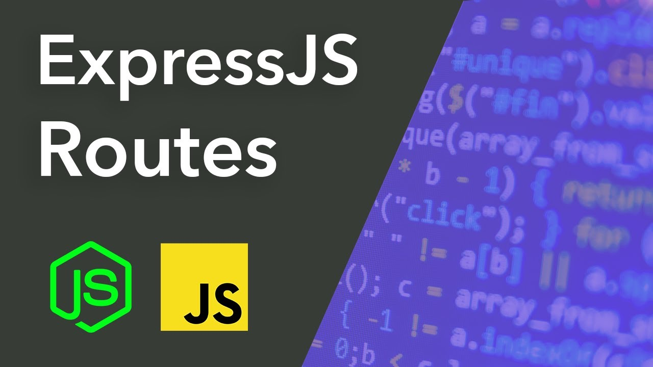 ExpressJS Routes Tutorial - Separating Routes into Different Files