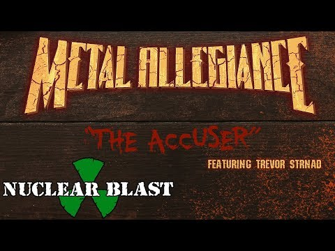 METAL ALLEGIANCE - The Accuser (feat. Trevor Strnad) (OFFICIAL BEER VISUALIZER)