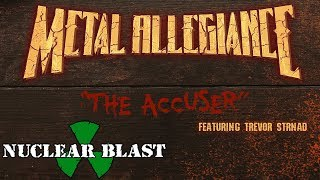 METAL ALLEGIANCE - The Accuser (feat. Trevor Strnad) ( BEER VISUALIZER)