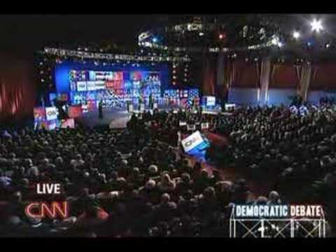 2008 CNN SC Democratic Debate (Part 1)