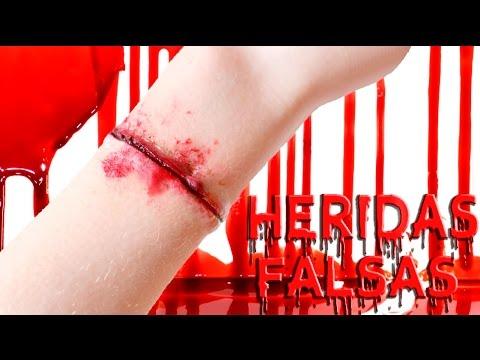 Como hacer heridas