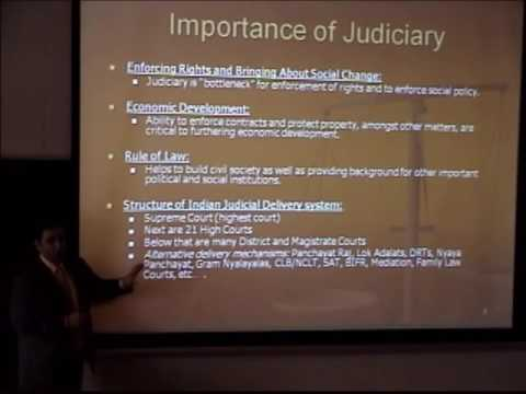 Enforcing Legal Rights in India: Judicial Reform
