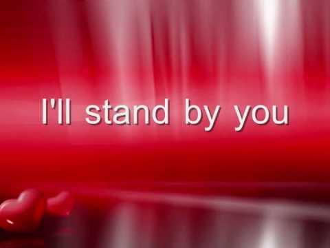 Glee- I'll stand by you LYRICS!