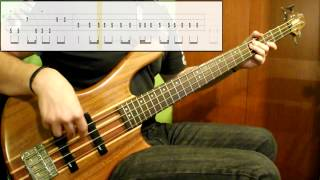 Red Hot Chili Peppers - Dani California (Bass Cover) (Play Along Tabs In Video)