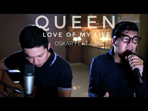 Love of My Life - Queen (LIVE Cover) - Oskar Mahendra feat Al Fajar Ajay Ideaz