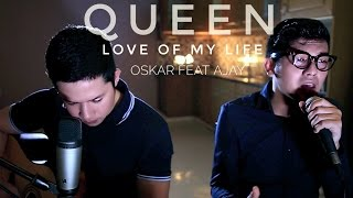 Love Of My Life - Queen  Live Cover  - Oskar Mahendra Feat Al Fajar Ajay Ideaz