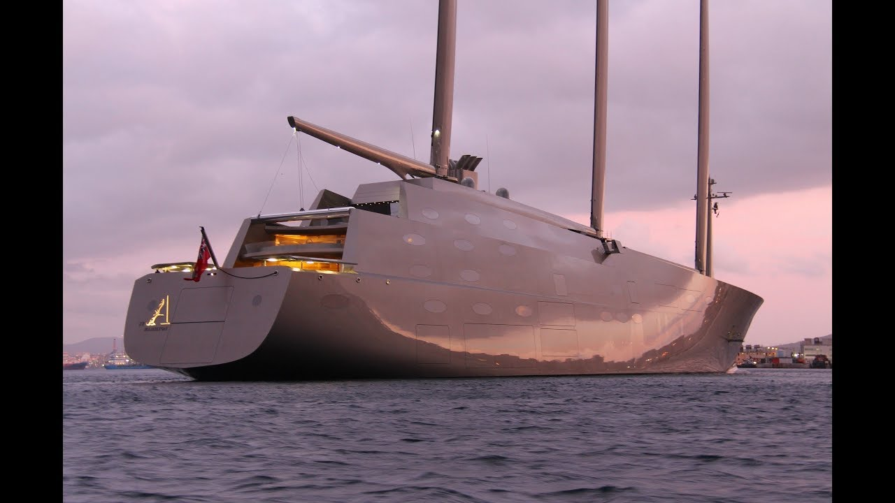 Sailing Yacht A >> Sailing Yacht A The Art Of Design
