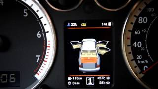 VW BORA 3D color MFD instrument cluster (dashboard) by DIAZ