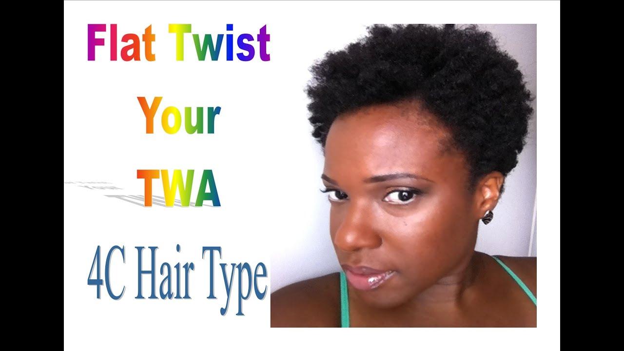 Natural Hair Flat Twist Your Twa Youtube