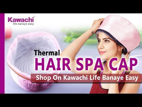 THERMAL CAP  | Hair Spa at Home | How to Use Steaming Cap