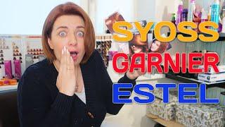 Какая лучше краска для волос: Syoss vs Garnier vs Estel - итоговый видео обзор красок для волос