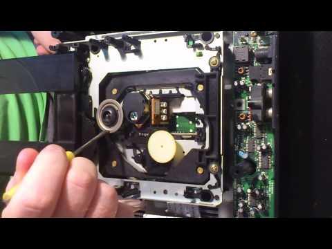 Sega CD Model 1 tray alignment