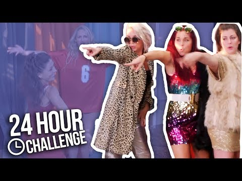 24 HOUR OVERNIGHT CHALLENGE! LIP SYNC BATTLE (Part 2)
