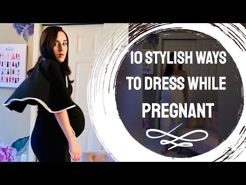 10-stylish-ways-to-dress-while-pregnant