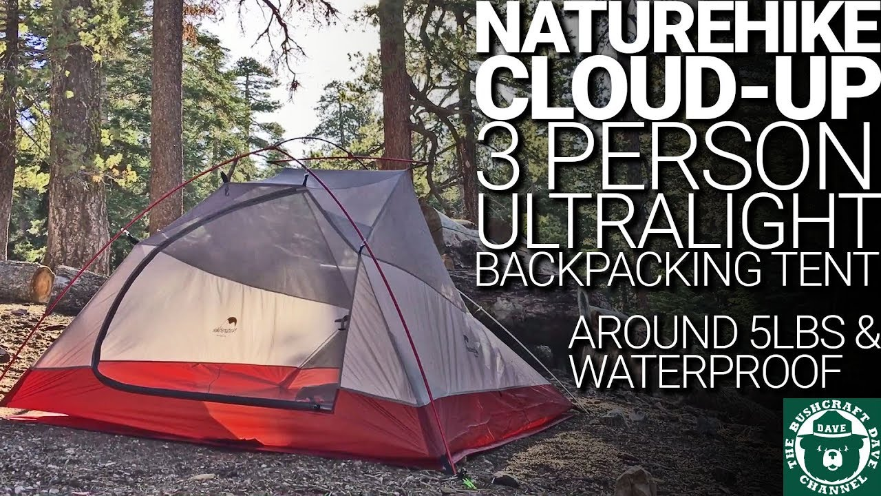 NatureHike Cloud-Up Ultralight 3 Person Backpacking Tent Lightweight u0026 Perfect For 2 People & NatureHike Cloud-Up Ultralight 3 Person Backpacking Tent ...