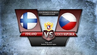 WW U18. Finland - Czech Republic