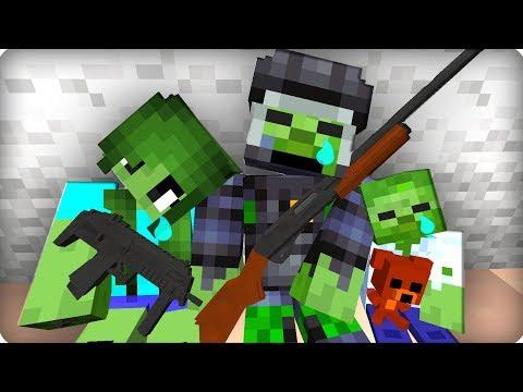 Они держались до последнего [ЧАСТЬ 43] Зомби апокалипсис в майнкрафт! - (Minecraft - Сериал)