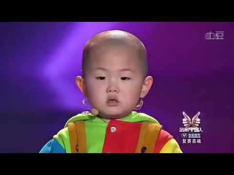 Zhang Junhao  the amazing 3 year old dancing boy i   480P