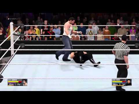 Wwe TLC December 13 2015 Dean Ambrose Vs Kevin Owens International Title Match