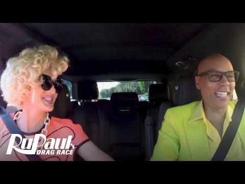 Drag Queen Carpool: Charlie Hides | RuPaul's Drag Race Season 9 | Now on VH1!