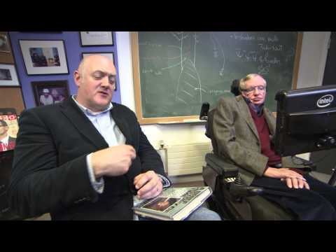 "Online Exclusive: ""All science fiction is dead"" - Dara O Briain meets Stephen Hawking - BBC One"