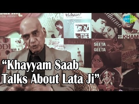 Khayyam Saab Talks About Lata Ji - A Musical Journey Of Lata Mangeshkar - The Nightingale Of India