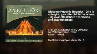 Giacomo Puccini: Turandot - Gira la cote gira, gira - Perchè tarda la luna - Ogiovanetto...