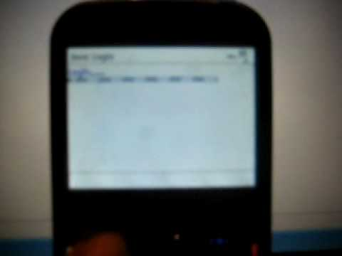 visualizacion movil con windows mobile (palm treo 500V)