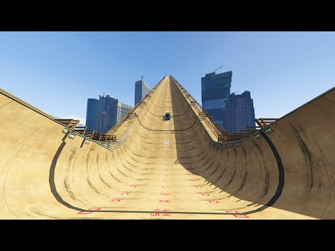 Thumbnail: WORLD'S BIGGEST MODDED RAMP! (GTA 5 Mods Funny Moments)