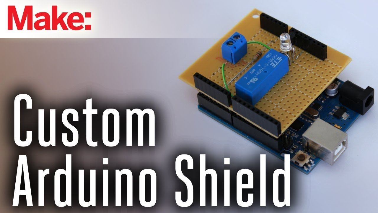 how to make custom shields for your microcontroller board youtube
