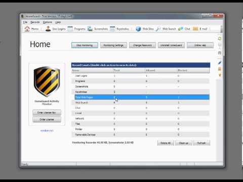 HomeGuard Activity Monitor demo