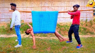Must Watch New Funny Video😂😂Top New Comedy Video 2019 | Try To Not Laugh 7 |#PoorYoutuber