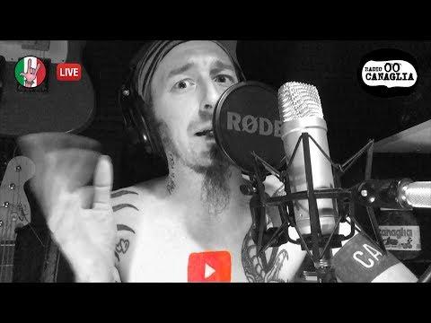 RADIO CANAGLIA - la Youtube Radio ROCK, PUNK, e METAL con TE...e con Marca [LIVE STREAM]