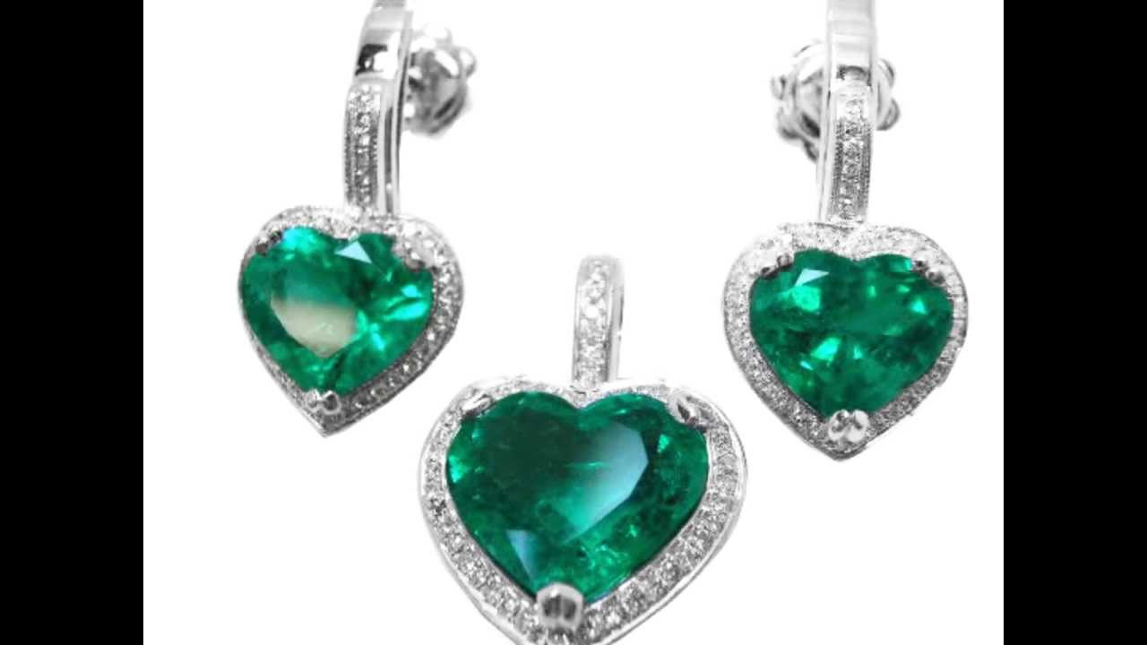 earrings sterling square dp green com real emerald sabrina princess pair carats amazon cubic cut mm silver zirconia color studs jewelry
