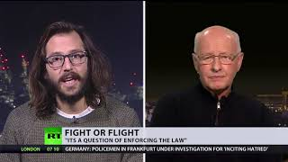 Fight or flight? UK activists who blocked plane with illegal migrants on board found guilty (DEBATE)