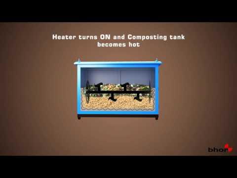 Waste To Compost machine  by Bhor Engineering Pvt Ltd