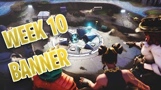 SECRET BANNER LOCATION WEEK 10 - Fortnite Season 8