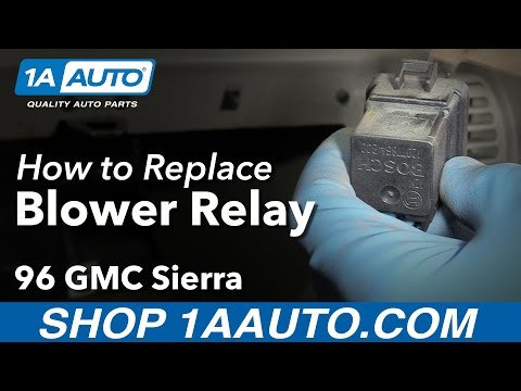 How to Replace Blower Relay 88-98 GMC K1500