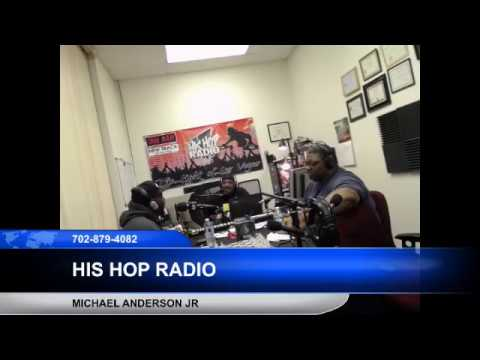 Michael Anderson Jr Live on His Hop radio