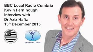 MKA UK Desmond Flood Relief   BBC Local Radio Cumbria 15th December 2015