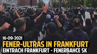 Fenerbahçe Ultras In Frankfurt | Eintracht Frankfurt - Fenerbahçe SK 16.09.2021