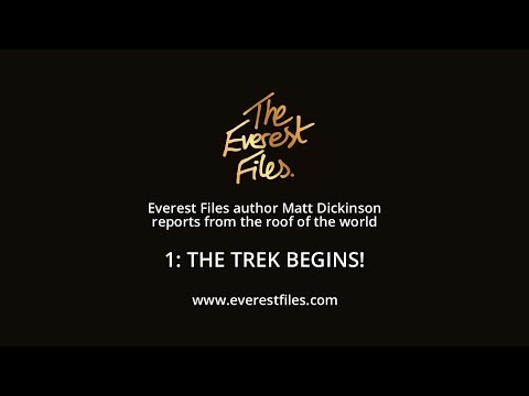 Everest Files author Matt Dickinson reports from the roof of the world - Clip 1