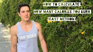 How to Calculate: How Many Calories You Burn (Easy Method)