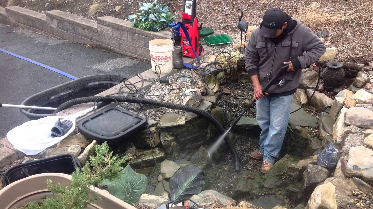 Fun Spring Pond Openings and Cleanings Trailer