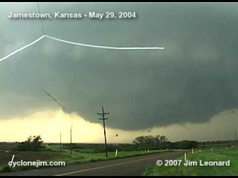 Jamestown, Kansas Tornadoes - May 29, 2004
