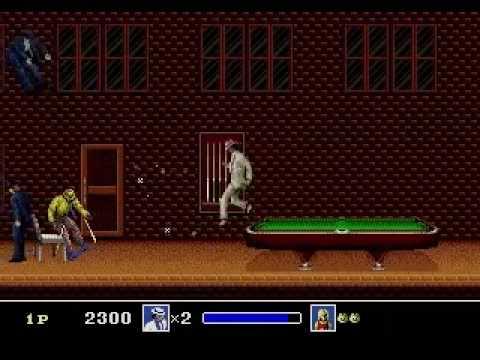 Michael Jacksons Moonwalker Sega Genesis Smooth Criminal