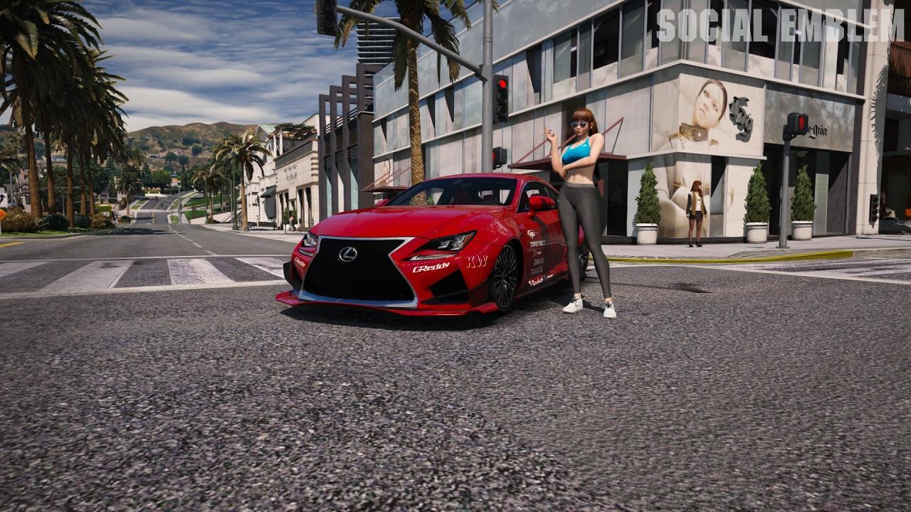 GTA 5 ☯Redux, L A  Roads☯ ultra Realistic Graphic ENB
